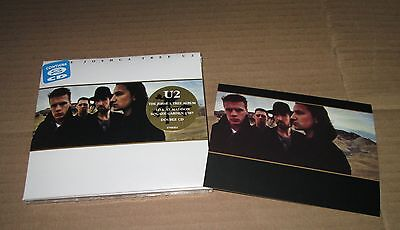 U2 THE JOSHUA TREE 30th Anniversary 2CD MEXICAN DLX EDITION MADE IN MEXICO