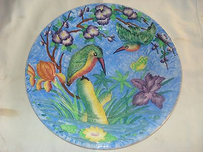 Service Platter/Charger MALING Kingfisher 1930s