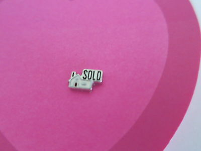HOUSE FOR SALE SOLD Floating Charm for Living Memory Locket BUY 5 GET 2 FREE