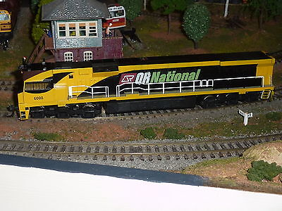 Brass and Sound 6000 Class QR National Diesel Locomotive - HO - DCC