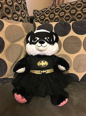 Build A Bear Very Cute Panda With Batgirl Costume!!!