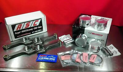 ASC H-Beam Rods Wiseco Pistons Toyota Corolla Paseo Turbo 5E 9:1 CR 74.5mm