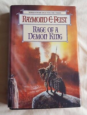 """""""Rage of a Demon King"""" Hardcover by Raymond E. Feist"""