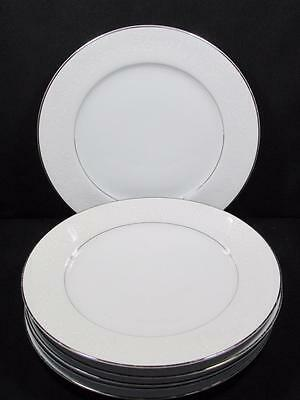 "Crown Victoria 'lovelace' Japan 6 Dinner Plates 10""   Kt759"