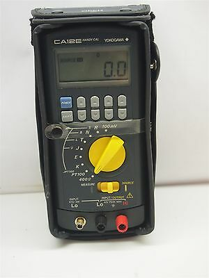Yokogawa CA12E Handy Cal Multifunction Calibrator