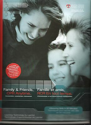 Family & Friends CPR Anytime Kit, Mini Anne Manikin, DVD English & French -