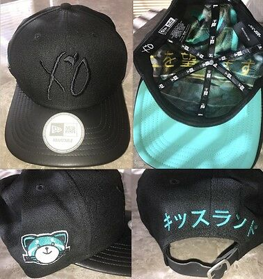 RARE 2013 The Weeknd Kissland Official Issue Xo VIP Tour Hat Kiss Land Starboy