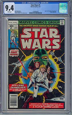 Marvel Comics STAR WARS #1 - CGC 9.4 WHITE PAGES NM 1977