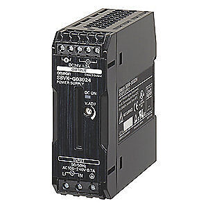 OMRON DC Power Supply,24VDC,1.3A,50/60Hz, S8VK-G03024