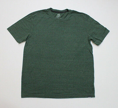 Men's Quiksilver Graphic T-Shirt Size Heathered Green Tee Medium