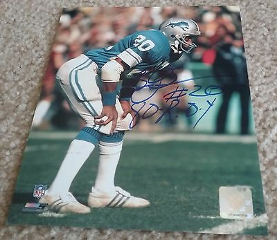 NFL HOF LIONS BILLY SIMS AUTOGRAPHED SIGNED 8x10 FOOTBALL PHOTO COA JSA PSA