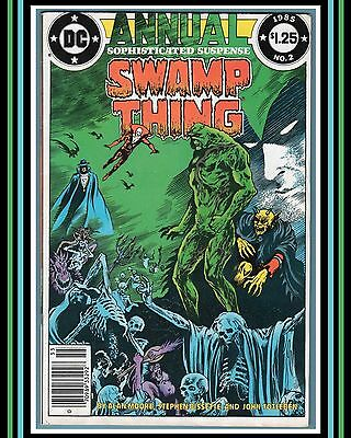 Swamp Thing (1982) Annual #2 *NeWSSTaND eDiTioN* | 1985 DC | Alan Moore (FN/VF)