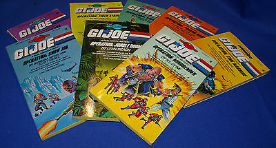 G.I. Joe Books - Find Your Fate Lot of 8 (1985-87)
