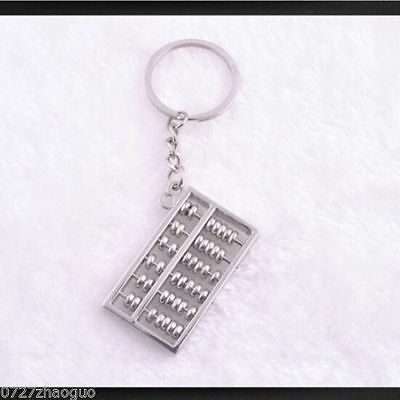 New Cute Gift Creative abacus Lovely Keyrings Chain Key Ring Keyfob Keychains*9