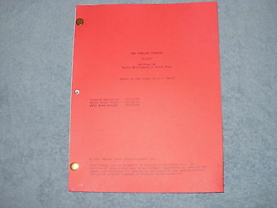 The Vampire Diaries Tv Pilot Script - Ian Somerhalder - Nina Dobrev Paul Wesley