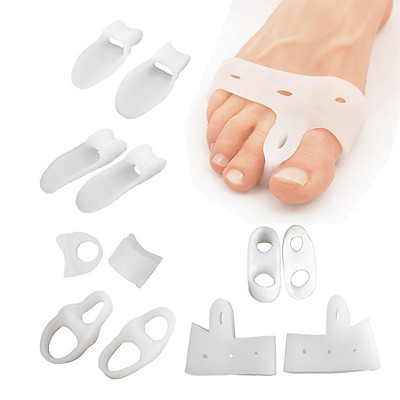 Sumifun 6 Pairs of Toes Separators Spacer, Bunion Relief Foot Care Tools Correct