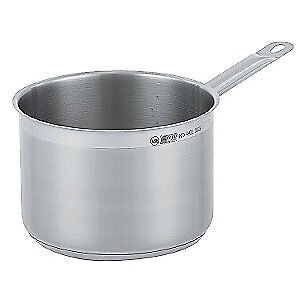 VOLLRATH Stainless Steel Sauce Pan,4 Qt., 3803