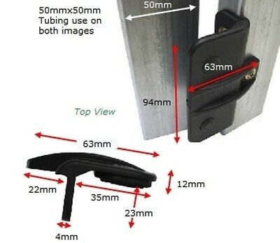 Rubber Gate stop - 94mm