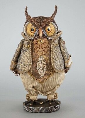 Katherine's Collection Gilded Celebrations Owl NEW 28-728649 Autumn Thanksgiving