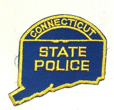 Vintage Connecticut Police Patch - OBSOLETE??
