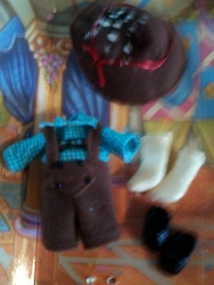 baby Kelly TOMMY Ryan Blue White SHIRT Brown SHORTS Collector Set Clothes SHOES