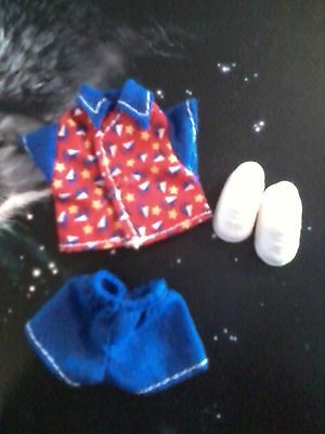 baby Kelly TOMMY Ryan Blue Red Summer Sailboat SHIRT SHORT set Clothes SHOES lot