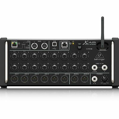 Behringer X Air XR18 18-Input Digital Mixer for iPad/Android Tablets WiFi USB