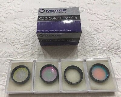 Meade 04530 CCD Color Filter Set