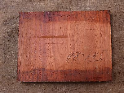 A very nice piece of Jatoba Wood for Knifemaking, Writing Equipment or Craft Wor