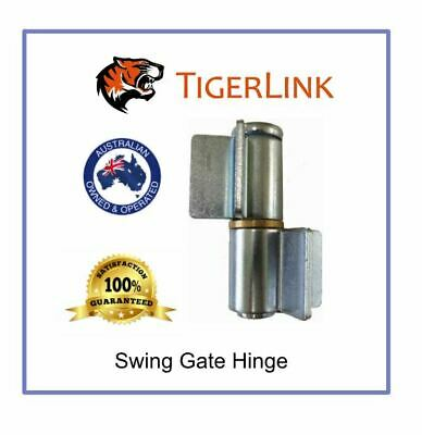 2 x Swing Gate Weld on Shackle Hinges 20mm Pin for Gate up to 600 kg- Pair