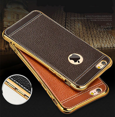 Luxury Slim Ultra-thin PU Leather Soft Case Cover For iPhone XS Max XR X 8 6s 7