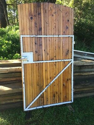 Steel Frame Timber Gate
