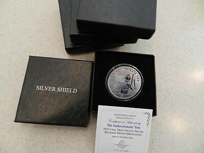 WE INDOCTRINATE YOU silver shield proof