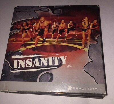 Insanity DVDs Set - Workout, Exercise, Beachbody Good used condition! 9/10 Discs