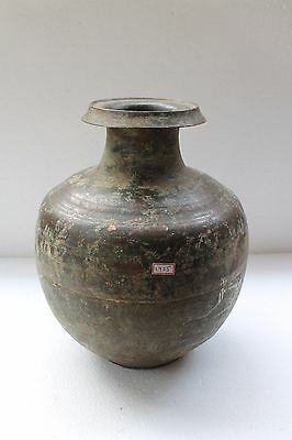 Antique Old Hand Crafted Mix Metal Brass Copper Holy Big Water Pot NH2925