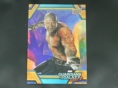 2017 UD Guardians of The Galaxy Vol. 2 RB-3 Drax WALMART EXCLUSIVE