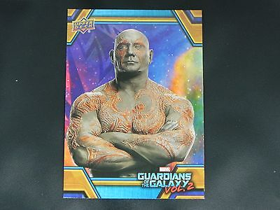 2017 UD Guardians of The Galaxy Vol. 2 RB-8 Drax WALMART EXCLUSIVE