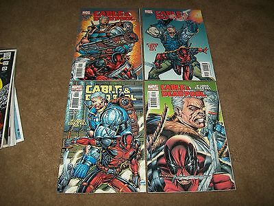 Deadpool And Cable 1 2 3 4 All 1St Print Hot Movie Coming!