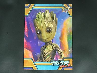 2017 UD Guardians of The Galaxy Vol. 2 RB-10 Groot WALMART EXCLUSIVE