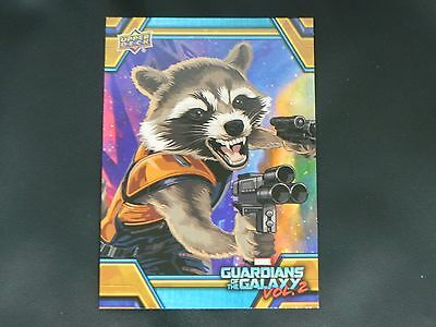 2017 UD Guardians of The Galaxy Vol. 2 RB-19 Rocket WALMART EXCLUSIVE