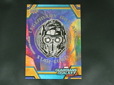 2017 UD Guardians of The Galaxy Vol. 2 RB-26 Star Lord WALMART EXCLUSIVE