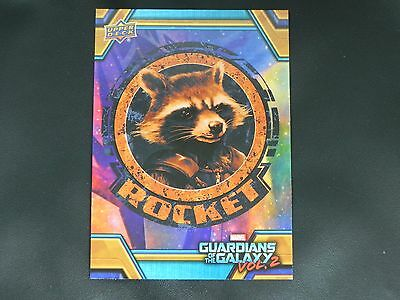 2017 UD Guardians of The Galaxy Vol. 2 RB-28 Rocket WALMART EXCLUSIVE