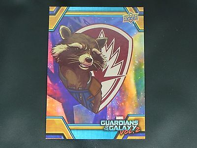 2017 UD Guardians of The Galaxy Vol. 2 RB-34 Rocket WALMART EXCLUSIVE