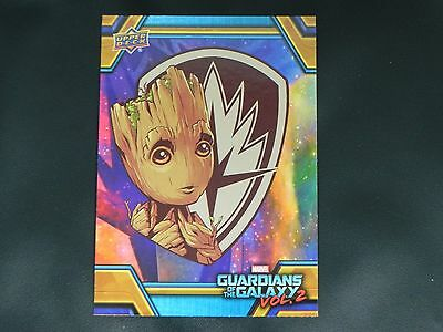 2017 UD Guardians of The Galaxy Vol. 2 RB-35 Groot WALMART EXCLUSIVE