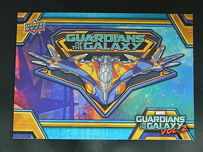2017 UD Guardians of The Galaxy Vol. 2 RB-38 Milano Starship WALMART EXCLUSIVE