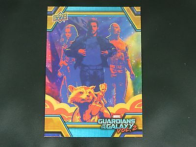 2017 UD Guardians of The Galaxy Vol. 2 RB-46 Star Lord WALMART EXCLUSIVE