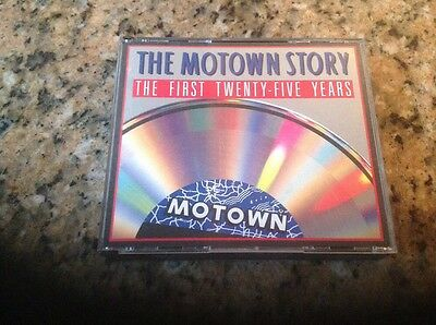The Motown Story 1986 3 CD Set 25th Anniversary