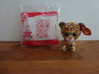 McDonalds TY Teenie Beanie Boo's Happy Meal toy *** FRECKLES ***
