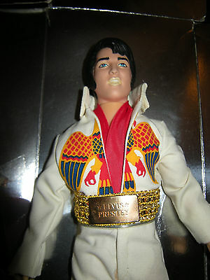 Vintage 1984 Elvis Presley Doll in Famous Eagle Outfit by Eugene