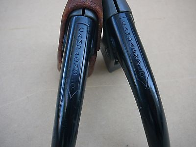 Campagnolo Nuovo record bicycle brake levers (in Black) very rare - 4 your bike